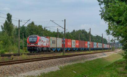 W sierpniu koleją przewieziono ponad 21 mln ton towarów