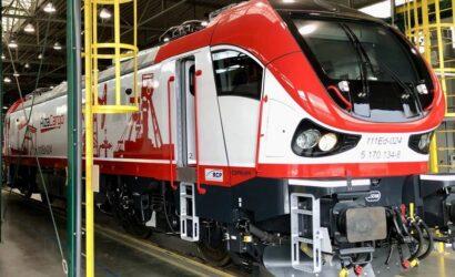 Pesa przekazała Alza Cargo lokomotywę Gama Marathon