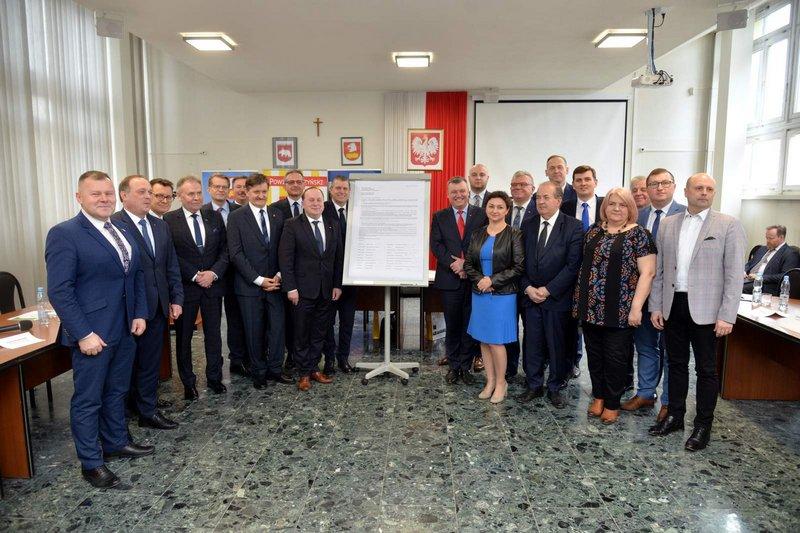Samorządowcy za rozwojem kolei w województwie lubelskim