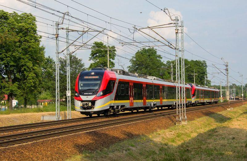 Korekta rozkładu jazdy pociągów ŁKA