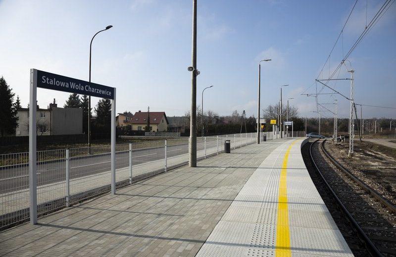 Przystanek Stalowa Wola Charzewice zwiększy dostęp do kolei