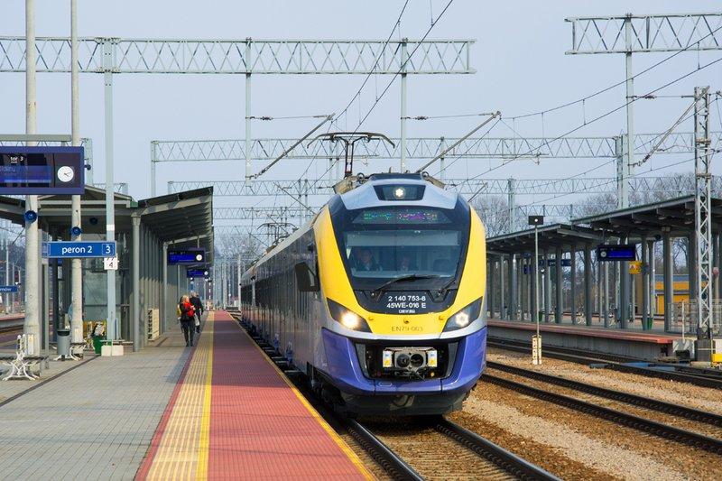 Koleje Małopolskie przyspieszą pilotażowo do 160 km/h