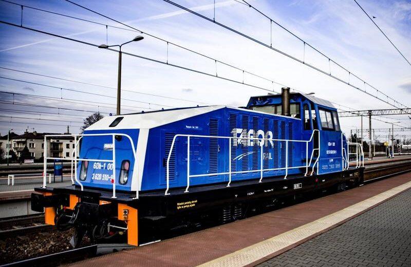 Tabor Dębica dostarczy PCC Intermodal trzy zmodernizowane lokomotywy manewrowe