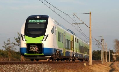 Stadler testuje w Żmigrodzie pociąg ATR803 dla Ferrovie Nord Milano [GALERIA]