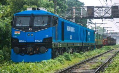Alstom dostarczył 100 lokomotywę elektryczną o mocy 9 MW dla Kolei Indyjskich