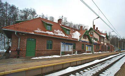 Zabytkowy dworzec Boguszów-Gorce Zachód zyskał nowe oblicze