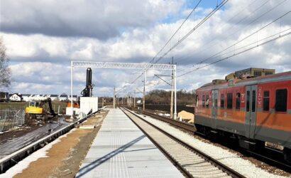 Nowy przystanek kolejowy Iwiny w aglomeracji wrocławskiej