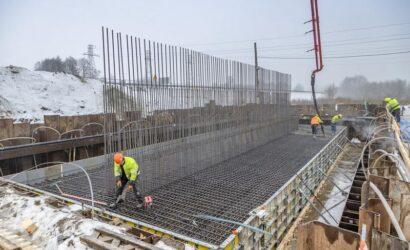 Rozpoczęła się budowa wiaduktu drogowego w Małkini