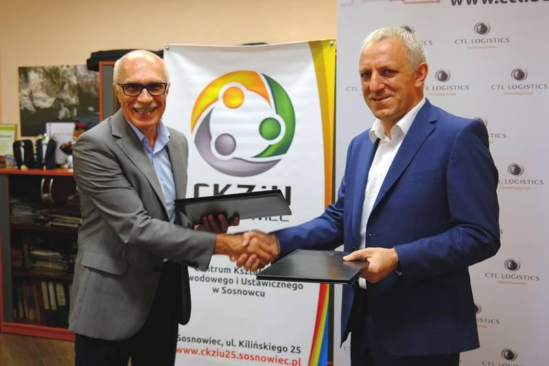 CTL Logistics nawiązuje współpracę z CKZiU w Sosnowcu