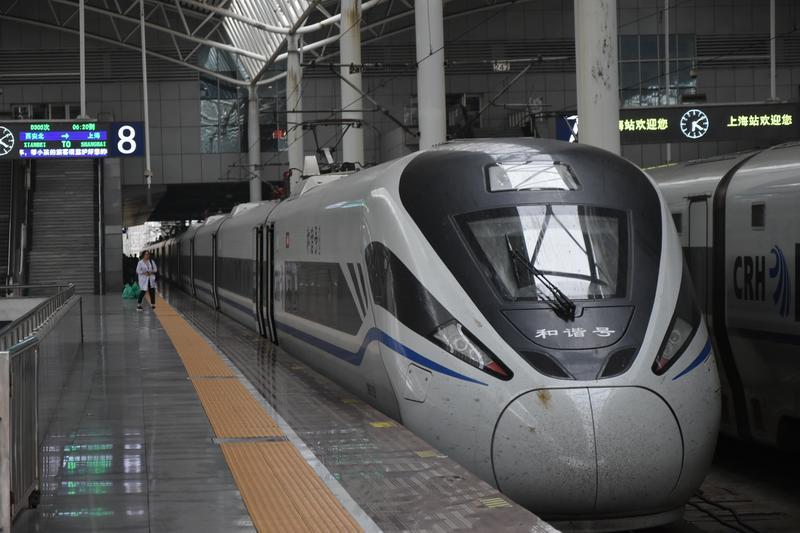 Chiny: Kolej Dużych Prędkości z pościelą [galeria]
