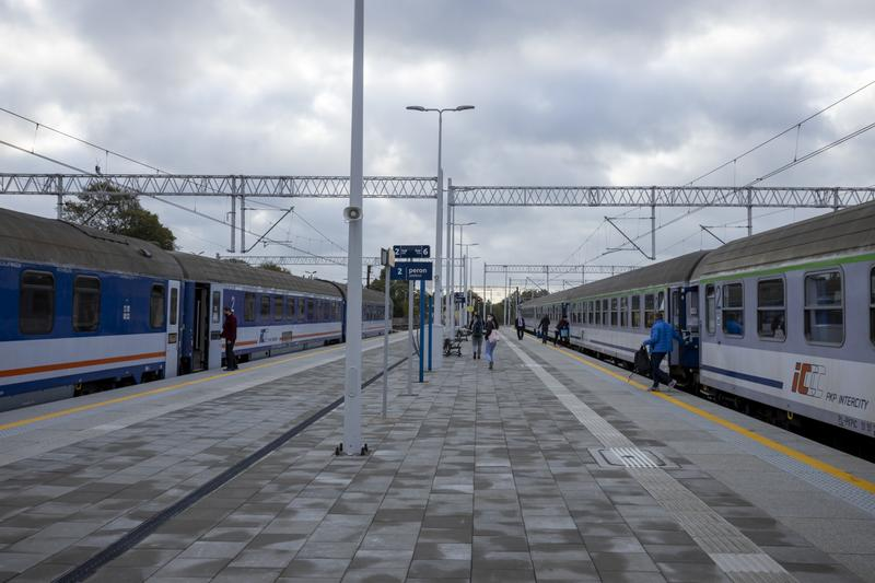 Nowe perony między Stargardem a Szczecinem
