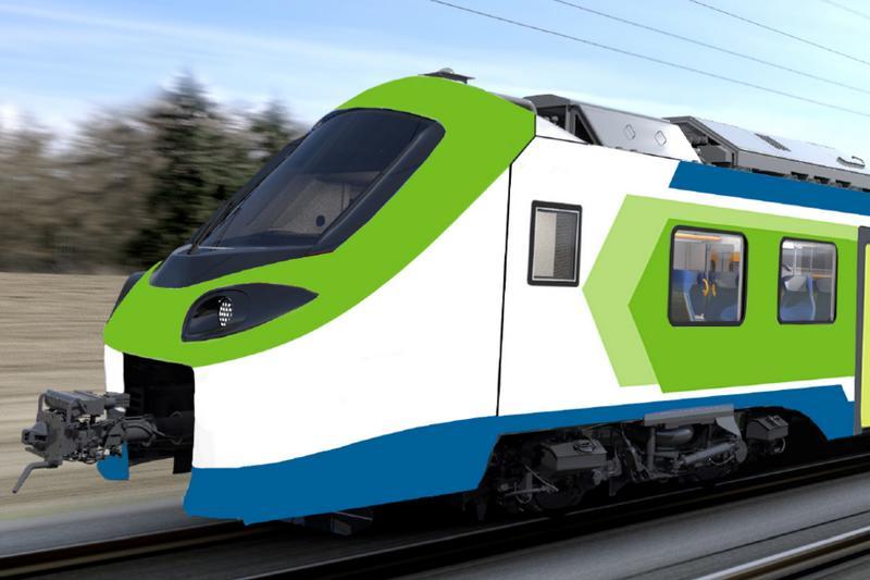 Alstom dostarczy do Włoch pociągi wodorowe