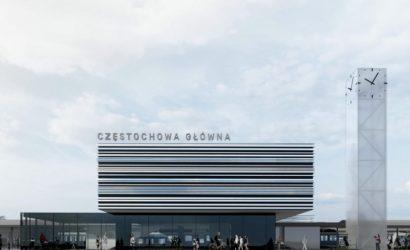 Nowy dworzec Częstochowa Główna zostanie otwarty w 2022 r.