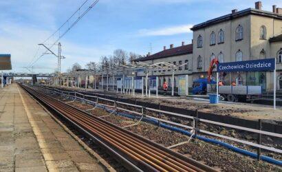 Ruszyła przebudowa stacji Czechowice-Dziedzice [GALERIA]