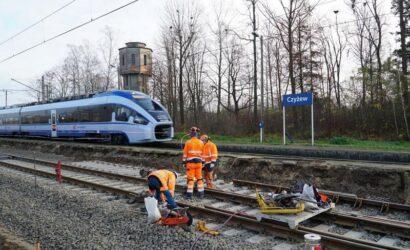 Trwają prace modernizacyjne na stacji Czyżew