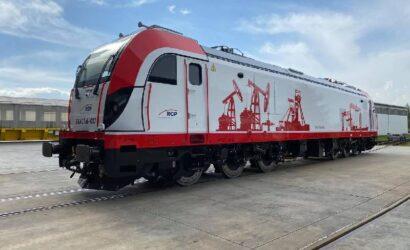Newag przekazał pierwszą lokomotywę Dragon 2 dla RailCapitalPartners