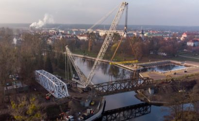 Stuletni most kolejowy w Piszu przypomni o historii kolei na Mazurach