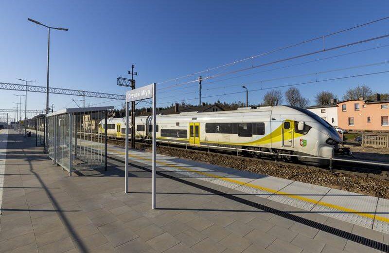 Wielkopolskie: w Drawskim Młynie łatwiej wsiadamy do pociągów [GALERIA]