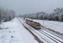 Powrót zimy nie przeszkadza kolei