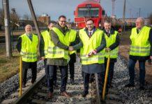 Możejki odzyskały połączenie kolejowe z Łotwą
