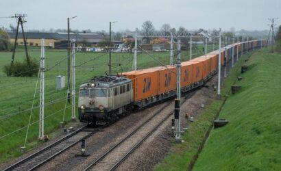 Punktualność pociągów towarowych w 2020 r.