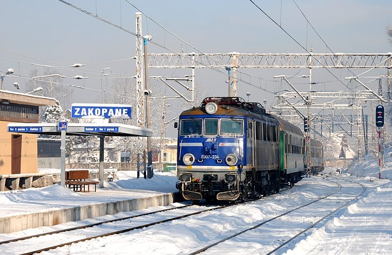 Po zimowych feriach PLK wznawia modernizację linii do Zakopanego