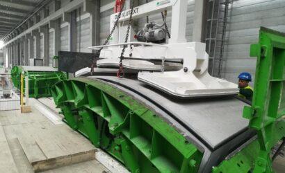 Ruszyła produkcja elementów tuneli w Łodzi