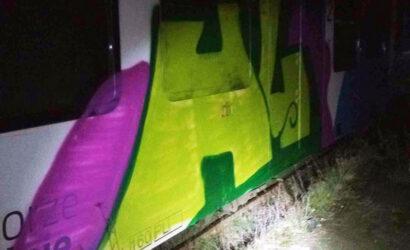 Grafficiarz zatrzymany przez funkcjonariuszy SOK