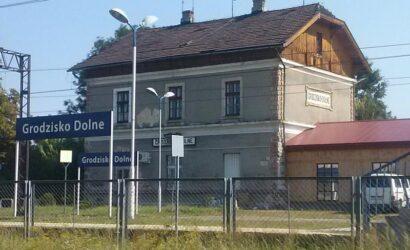 Wznowiono ruch pociągów po wypadku na stacji Grodzisko Dolne