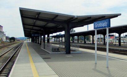 PLK podpisały umowę na dokumentację projektową rewitalizacji linii między Grudziądzem a Gardeją