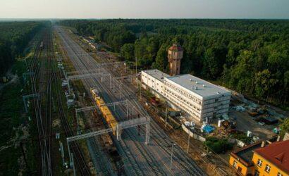 PLK z umową na dokumentację projektową dla odcinka Nakło Śląskie – Kalina (Herby Nowe)