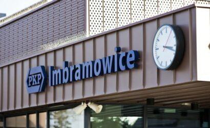 Dworzec w Imbramowicach otwarty dla podróżnych [GALERIA]
