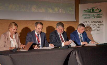 Koleje Mazowieckie i ECCO Rail w Programie Zielona Kolej