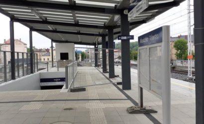 Kłodzko Miasto: ponad 1000 pociągów odjechało już z nowego peronu