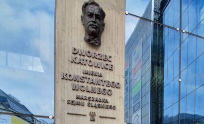 Konstanty Wolny patronem dworca w Katowicach