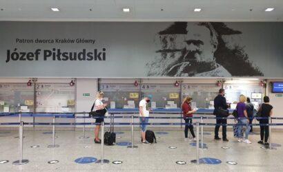 Józef Piłsudski patronem dworca Kraków Główny