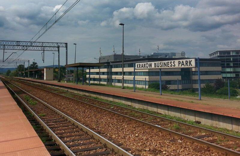 Lepszy dostęp do kolei na przystanku Kraków Business Park