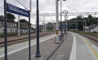 PKP PLK zakończyły modernizację stacji kolejowej Kraków Bonarka