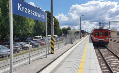 Stacja Krzeszowice zyskała nowy blask