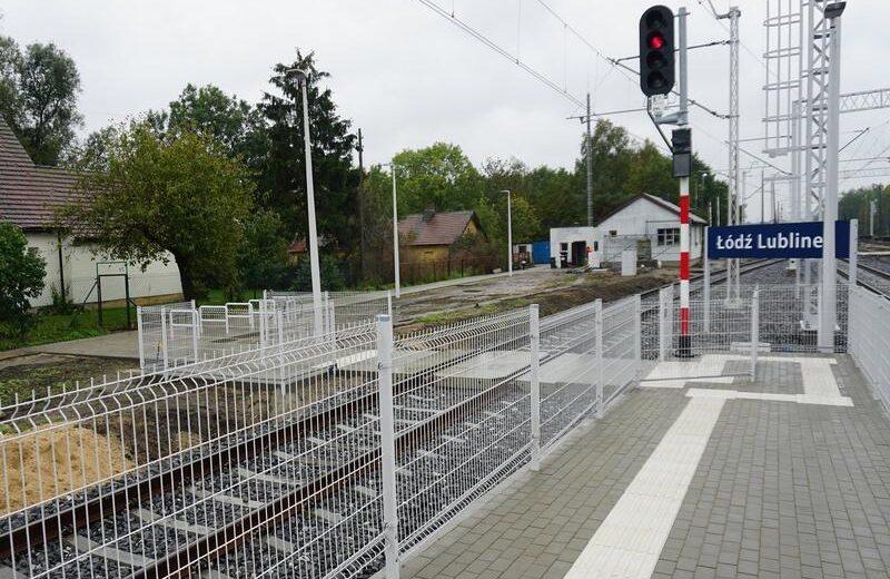 Pasażerowie na stacji Łódź Lublinek zyskali lepszy dostęp do pociągów