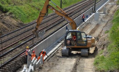 Trwa budowa przystanku Łódź Retkinia