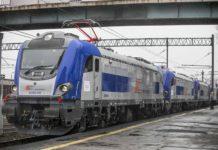 Newag zaprezentował osiem lokomotyw Griffin wyprodukowanych dla PKP Intercity