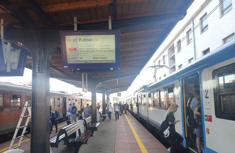 Dodatkowy system informacji ułatwia podróże ze stacji Lubliniec