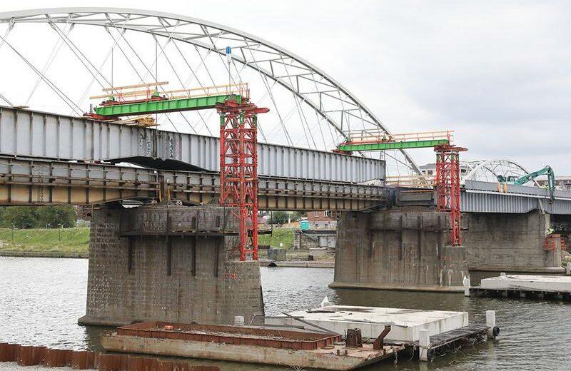 PKP PLK wykorzystają elementy krakowskiego mostu z nad Wisły w Zagórzu