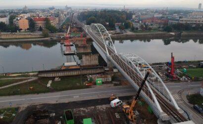 Zakończyła się rozbiórka starego mostu średnicowego w Krakowie