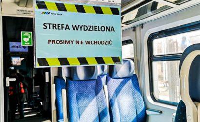 Przewoźnicy wydzielają strefę bezpieczeństwa w pociągach