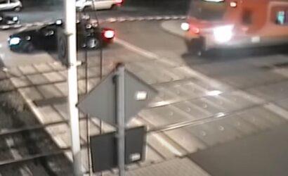 O krok od tragedii na przejeździe w Puszczykowie [film]