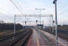 Na linii Ocice – Rzeszów wywieszono już ok. 70 km nowej sieci trakcyjnej