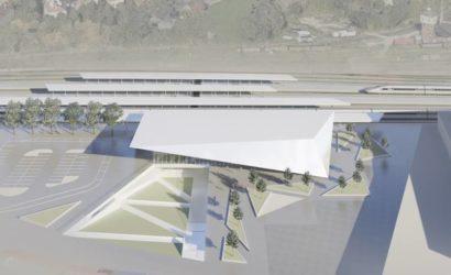 PKP S.A. z ofertami na budowę nowego dworca Olsztyn Główny [WIZUALIZACJE]