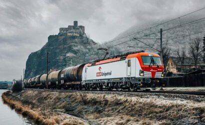 Orlen Unipetrol odebrał pierwszą z czterech lokomotyw Vectron